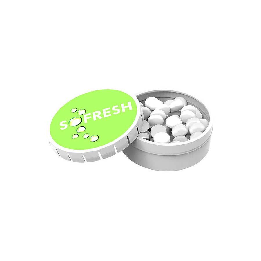 Boite de pastilles à la menthe