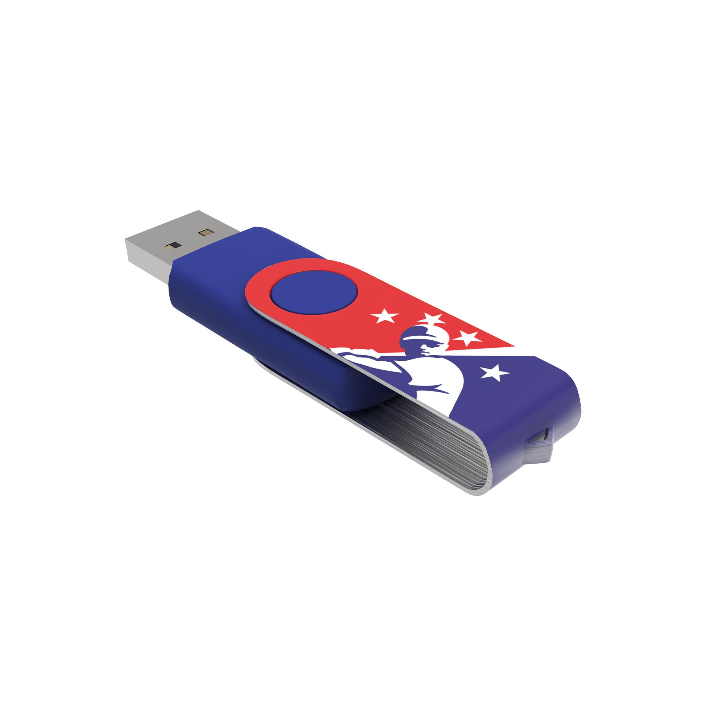 Clé USB Twister avec marquage intégral - 21-1073-12