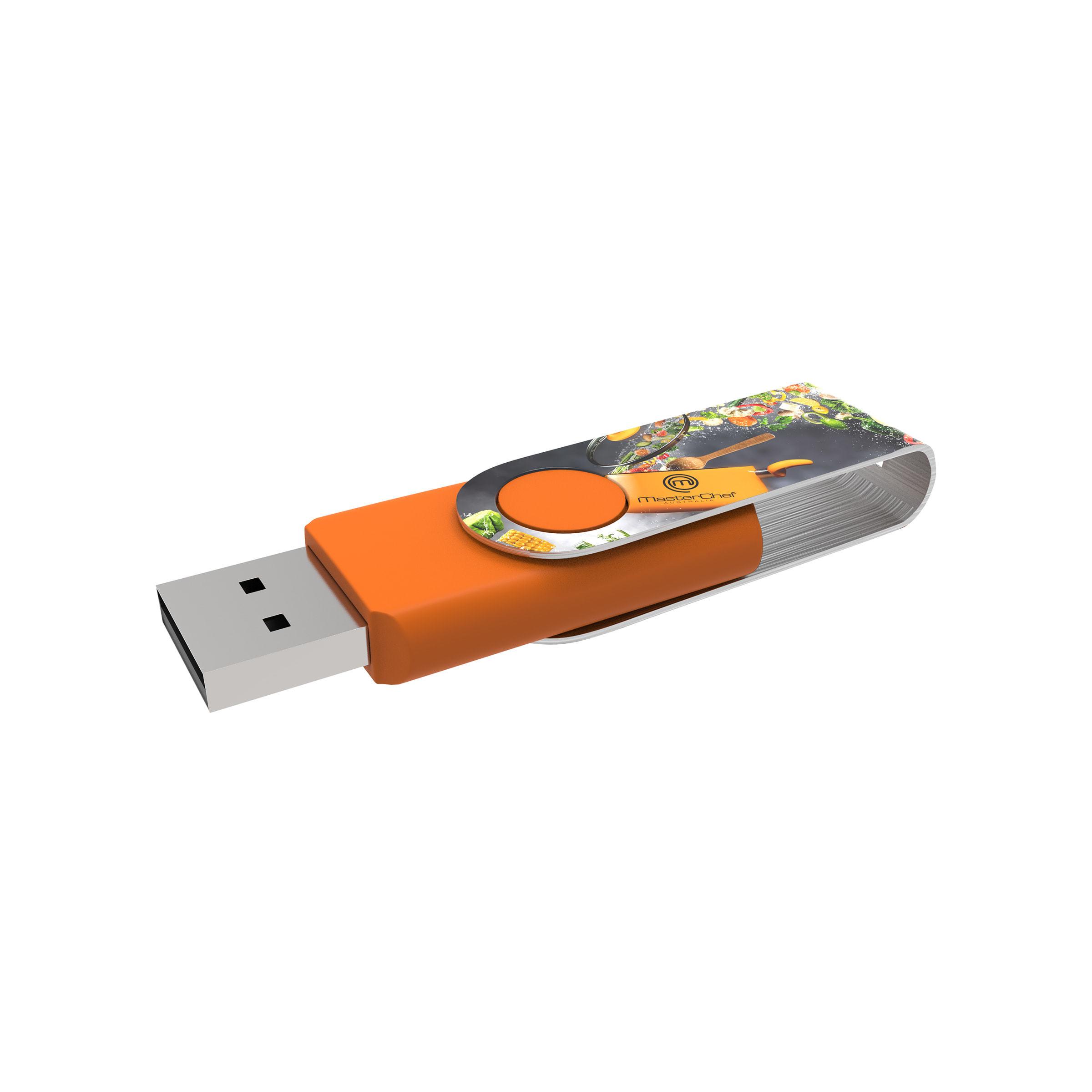 Clé USB Twister avec marquage intégral - 21-1073-19