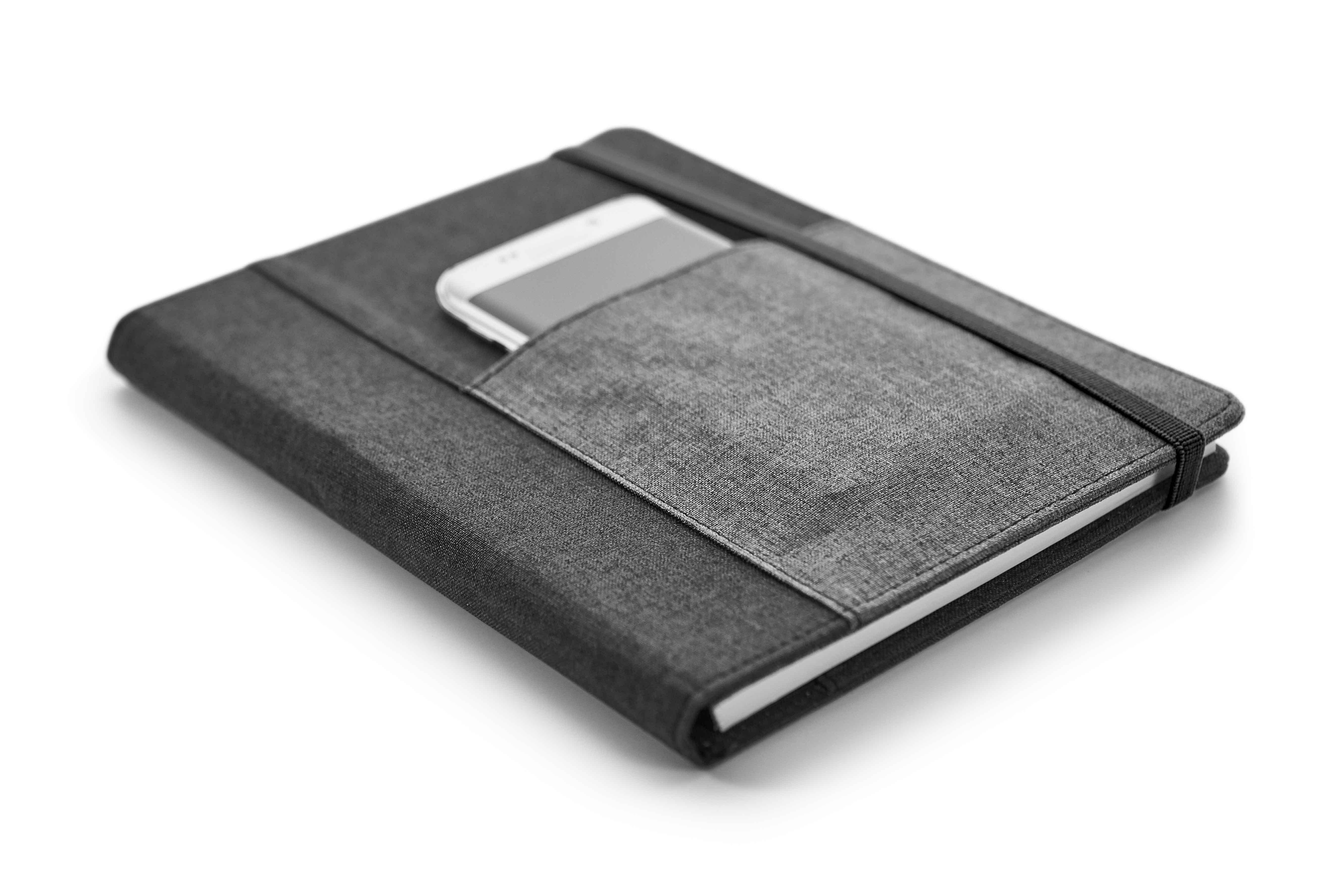 Bloc-notes avec couverture rigide - 26-1108-11