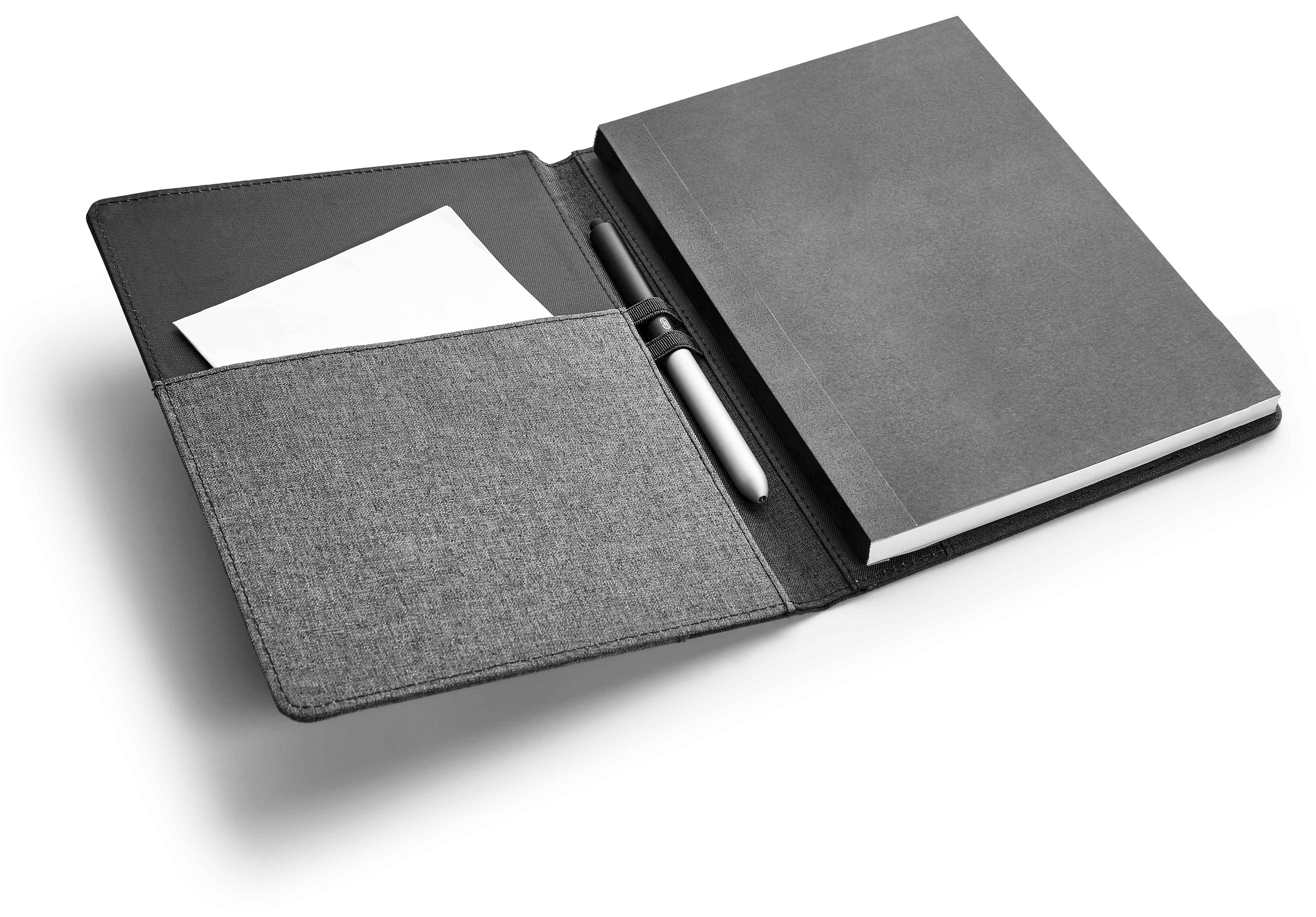 Bloc-notes avec couverture rigide - 26-1108-12