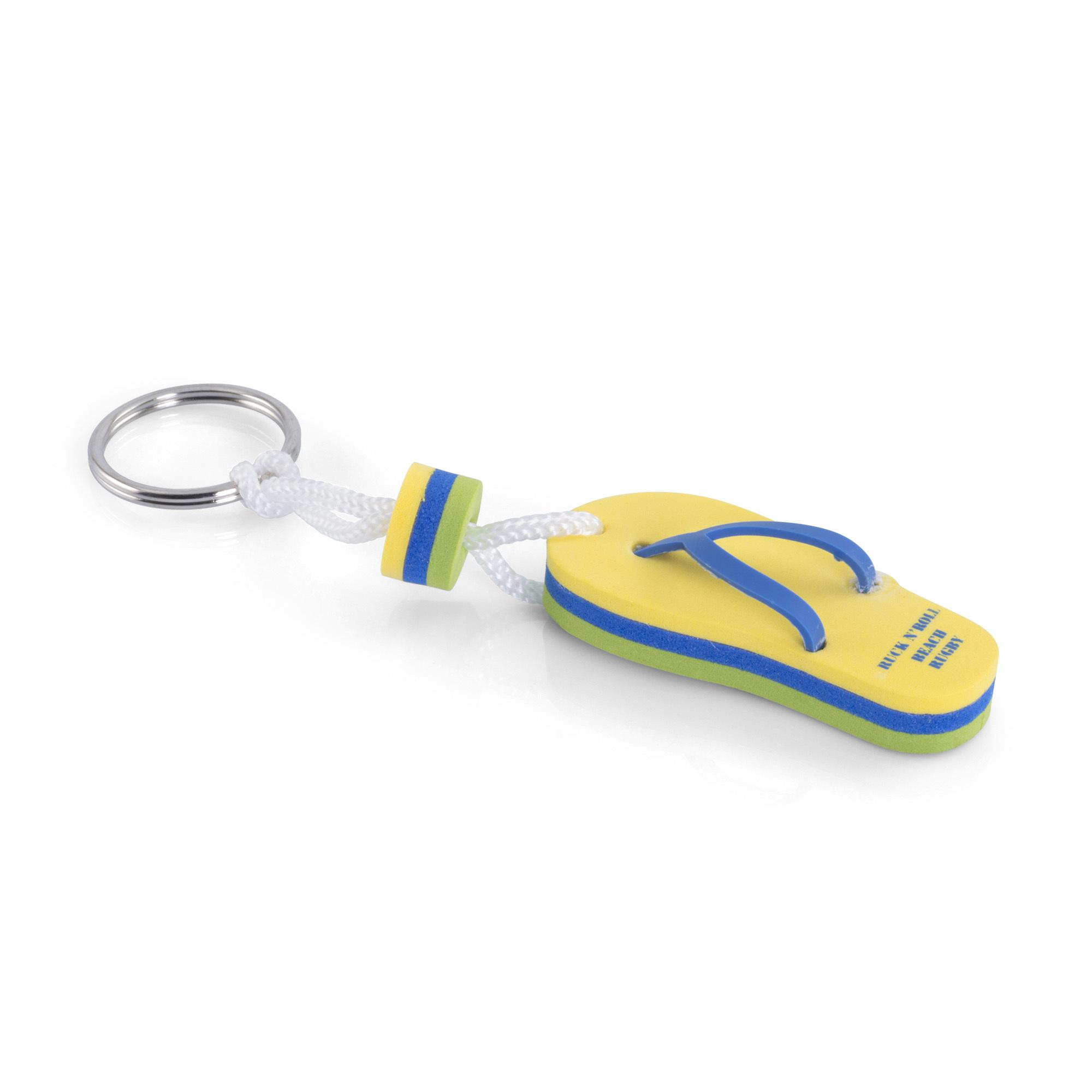 Porte-clés mousse à la forme