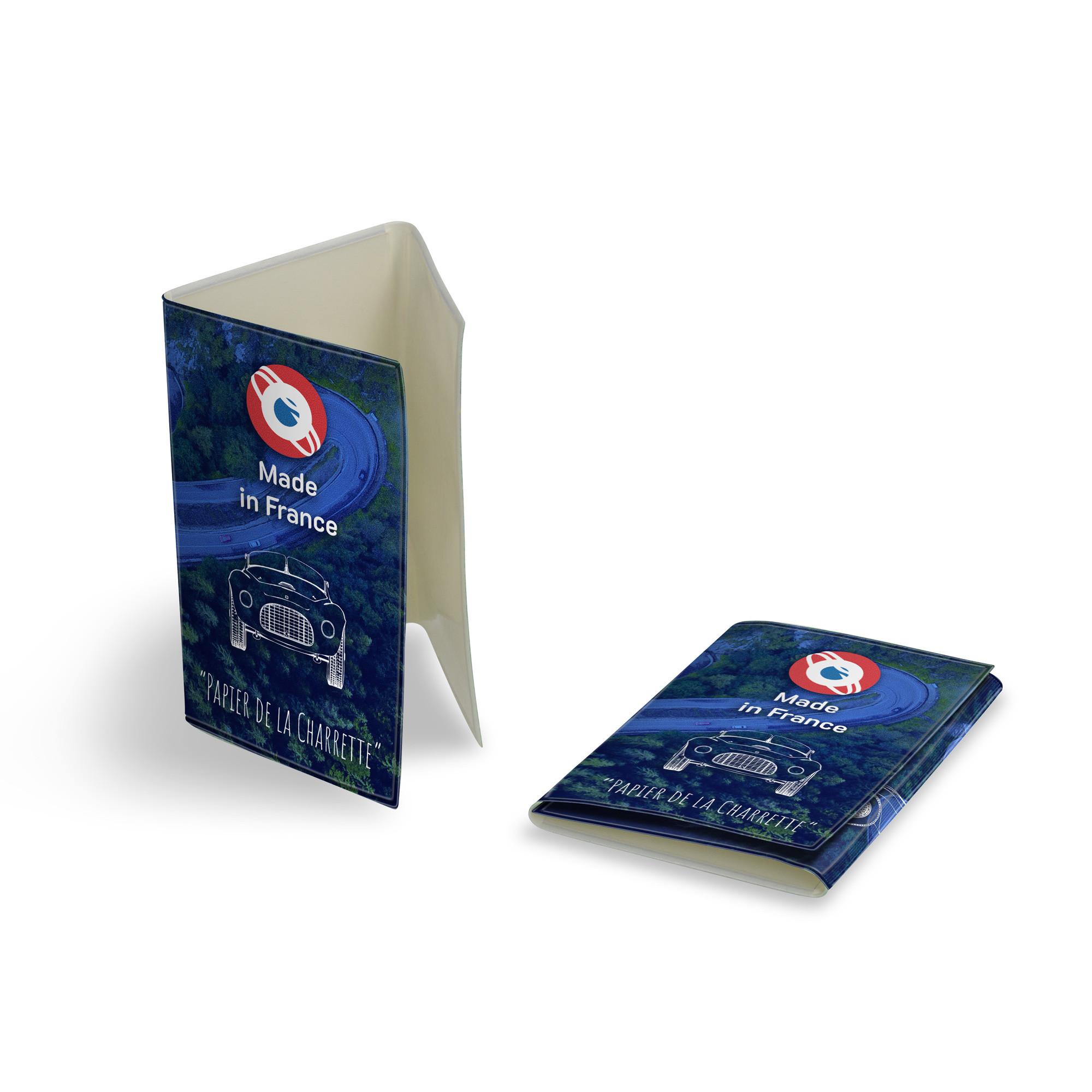 Pochette carte grise 2 ou 3 volets
