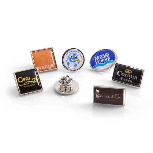 Pin's zamac rond, carré, rectangle ou ovale. - 3-1199-1