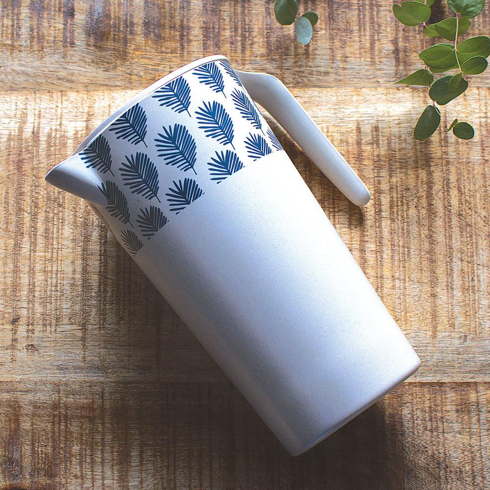 Carafe en fibre de bambou