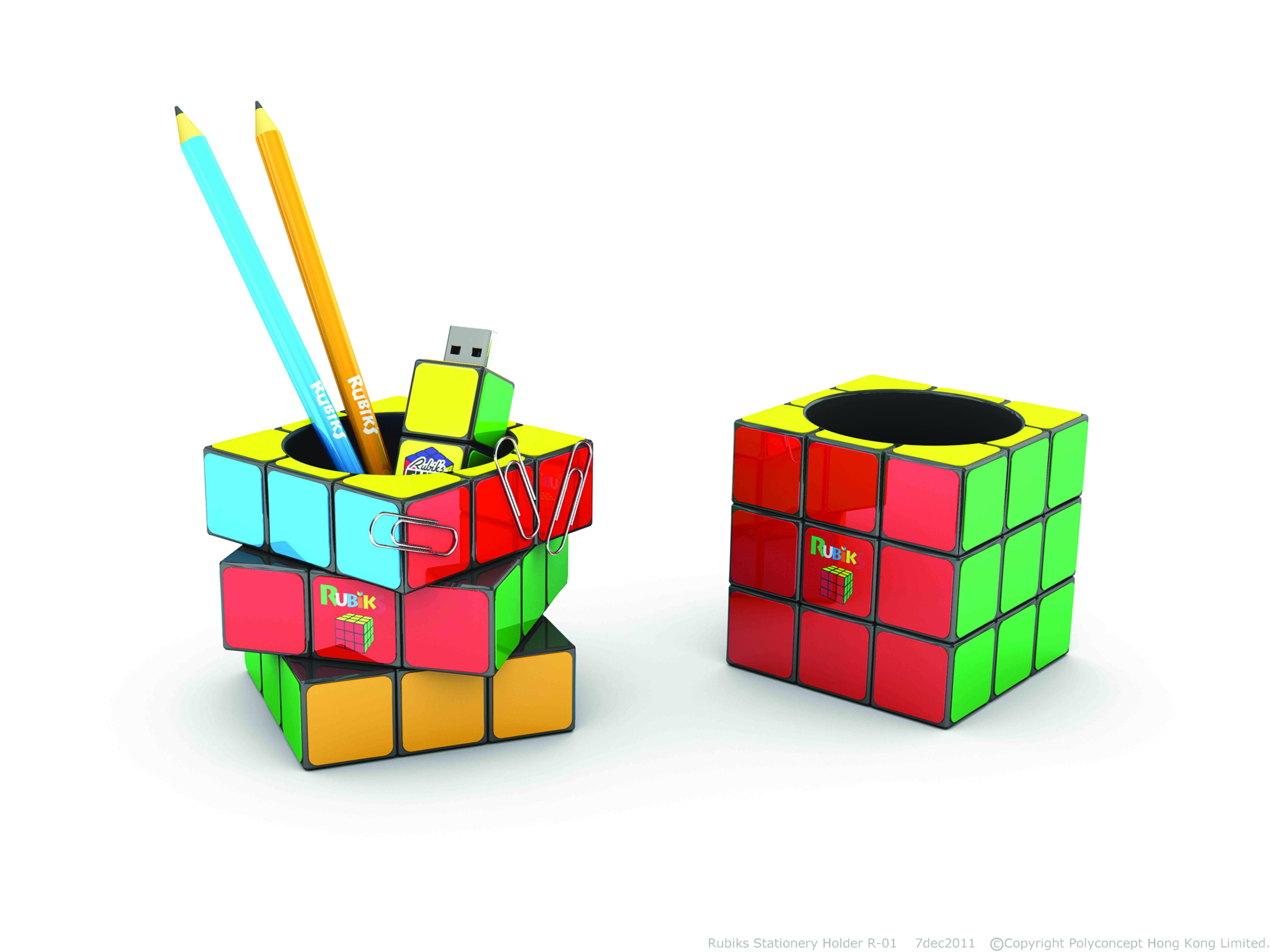Rubik's Pot à Crayons