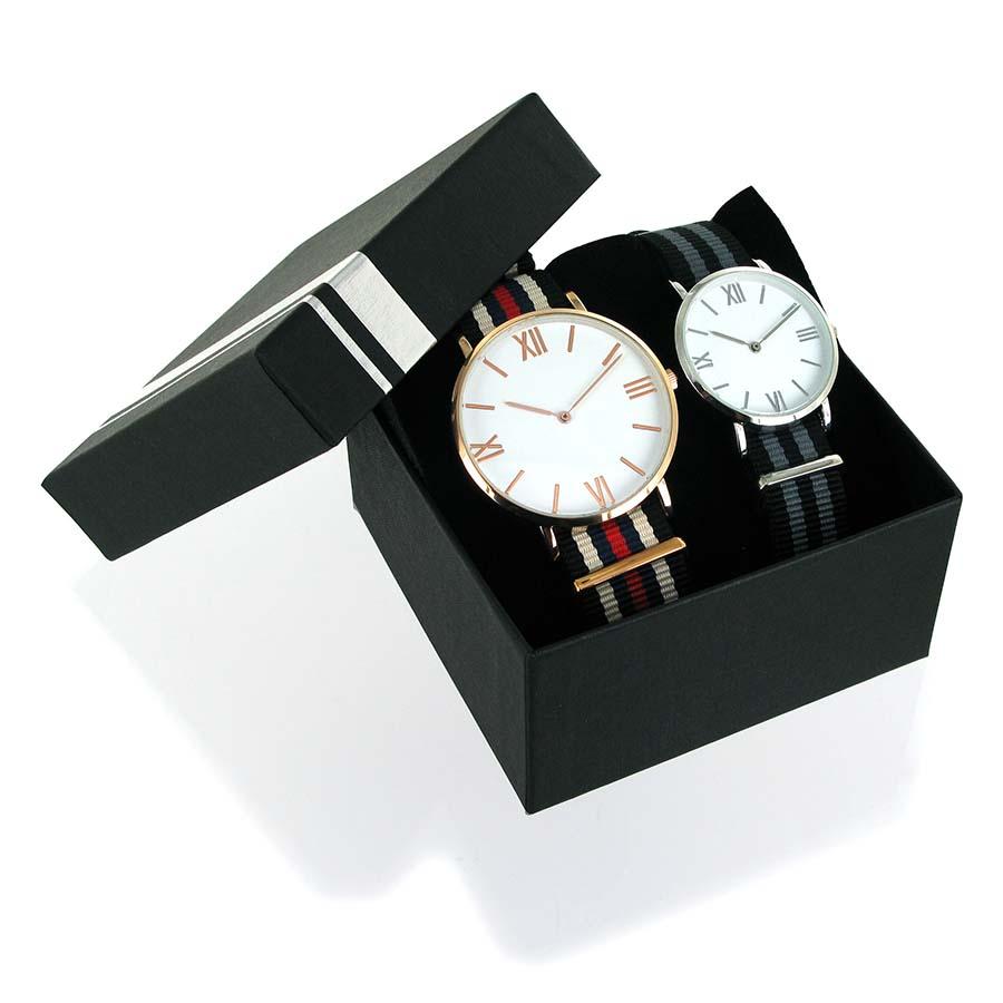 Coffret 2 montres Dandy homme et femme