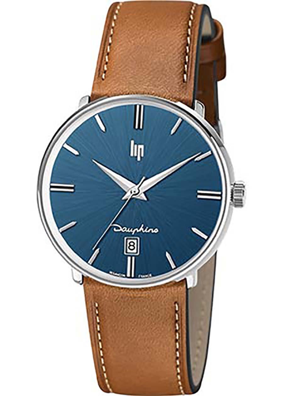 Montre LIP  Dauphine bracelet cuir