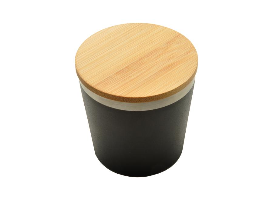 Mug isotherme avec couvercle en bambou