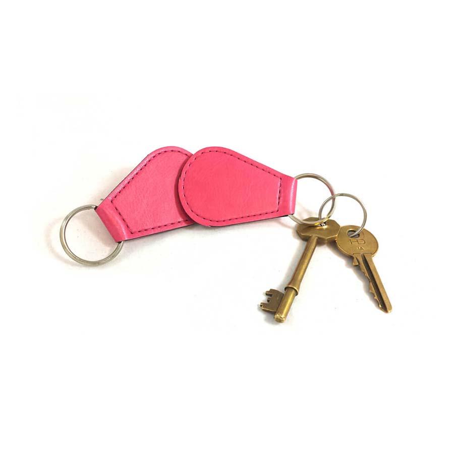 Porte-clés en goutte d'eau en PU
