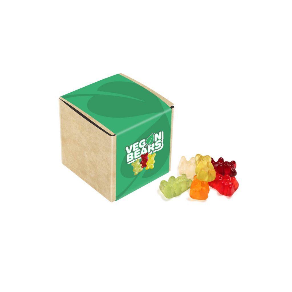Cube Kraft avec Oursons végan