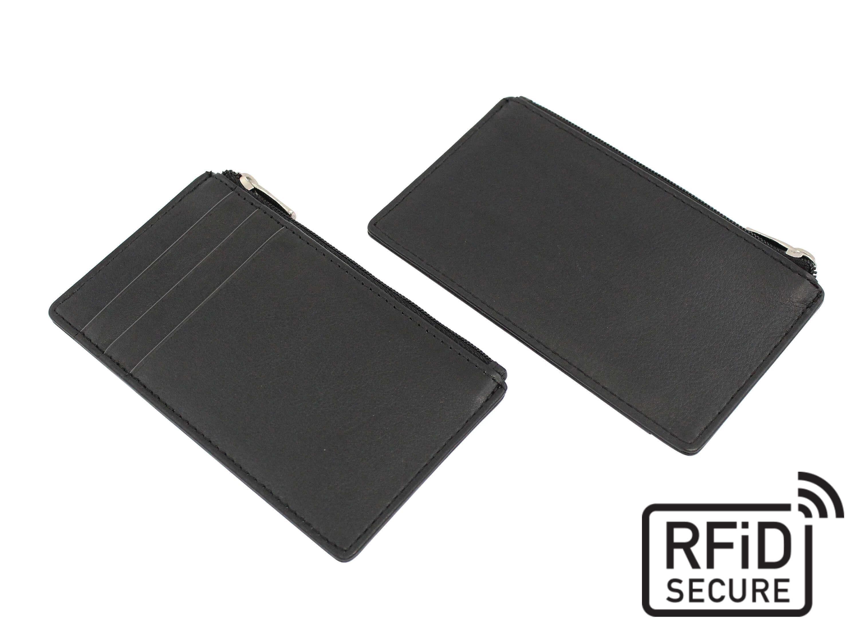Porte-cartes anti-RFID en cuir Sandringham