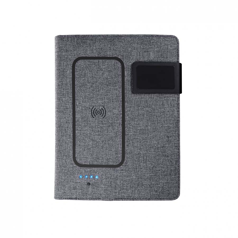 Cahier de notes A5 avec chargeur par induction