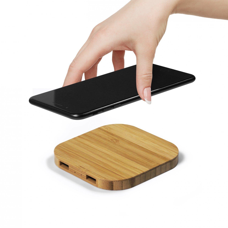 Chargeur induction avec 2 ports USB