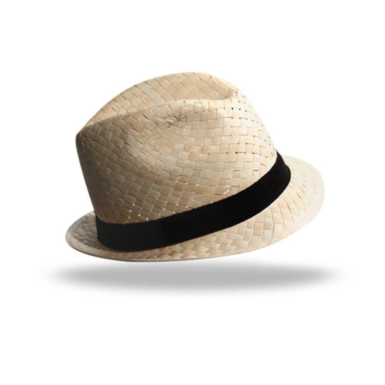 Chapeau paille dorée Doulos