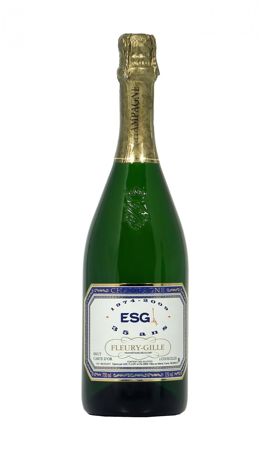 Champagne FLEURY GILLE Carte d'or brut