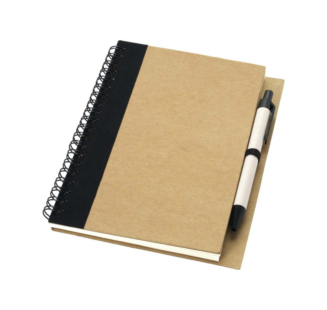 Carnet de notes avec stylo