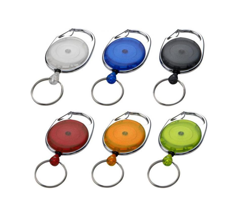 Porte-clés à boucle extensible