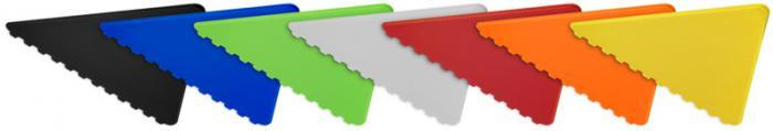 Grattoir triangle