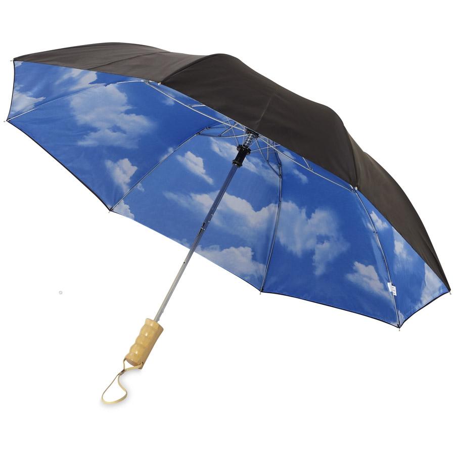 """Parapluie automatique 2 sections 21"""" BlueSkie"""