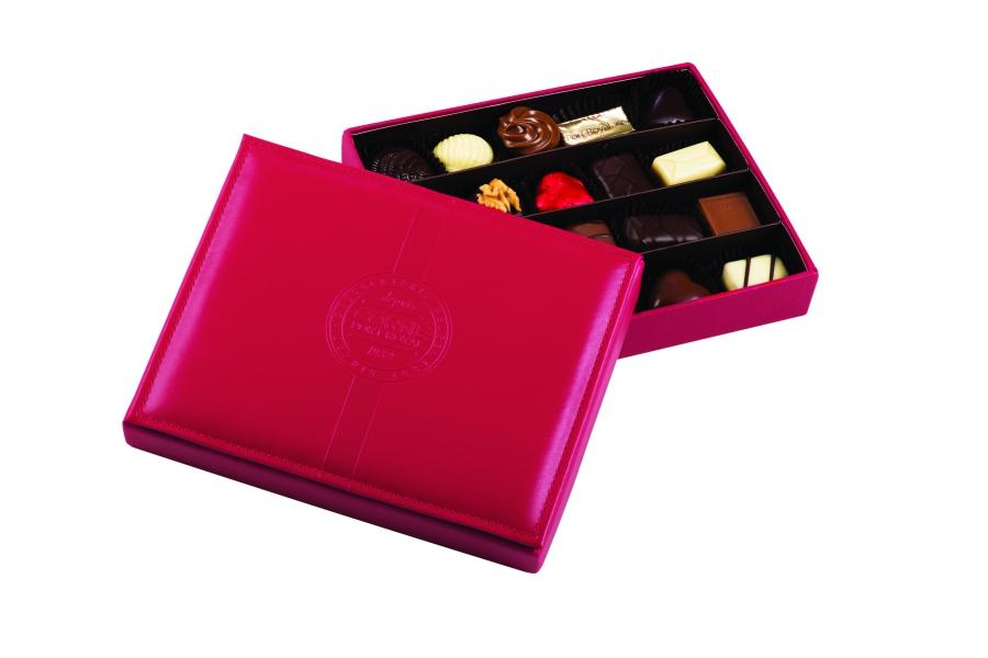 Boîte Cuir Rouge - 50-1032-2