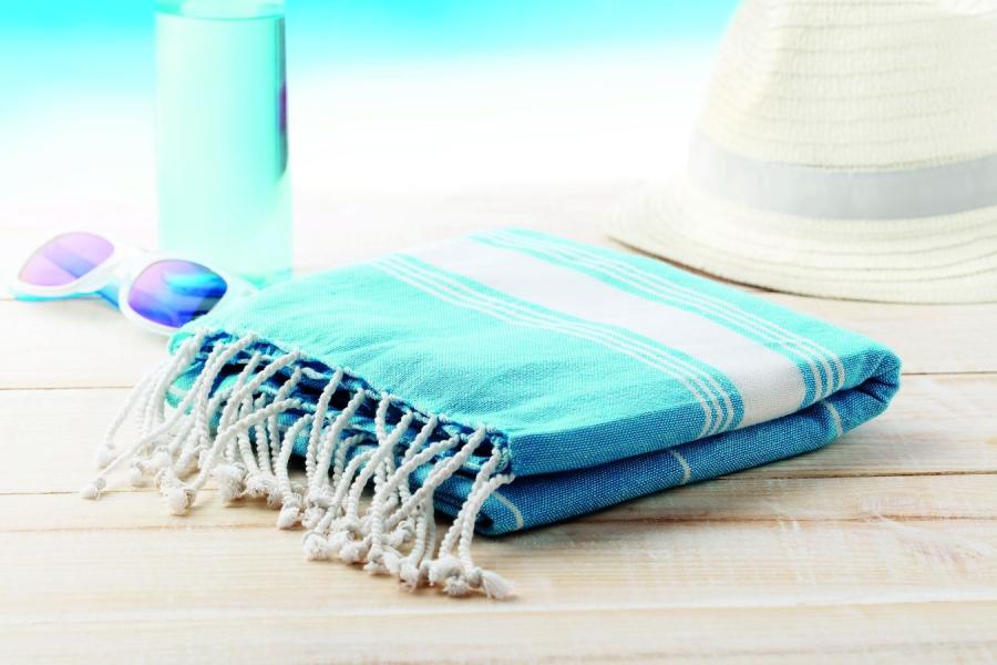 Serviette de plage coton