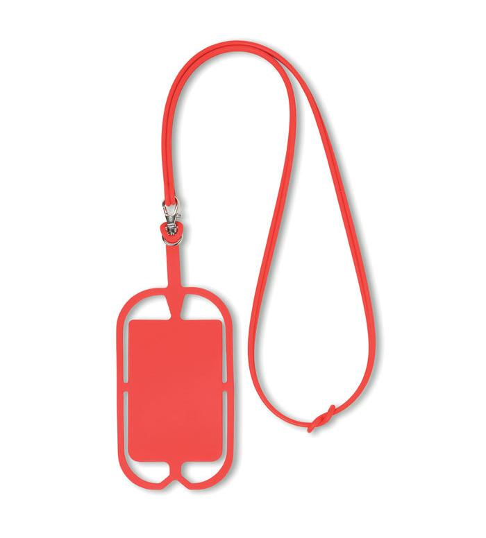 Porte smartphone en silicone