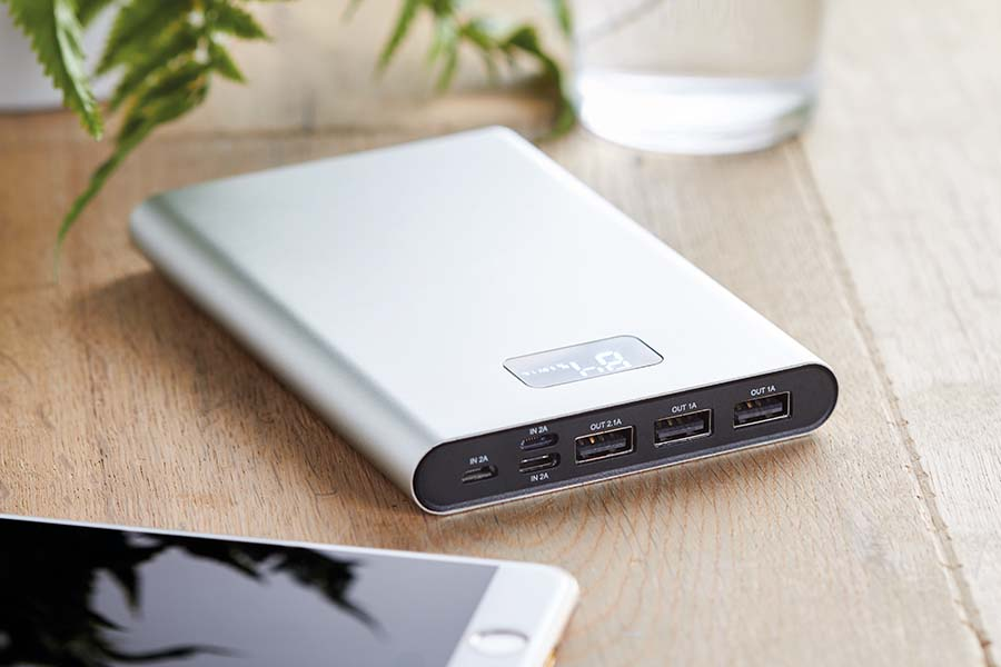 Powerbank 1600 mAh en alu