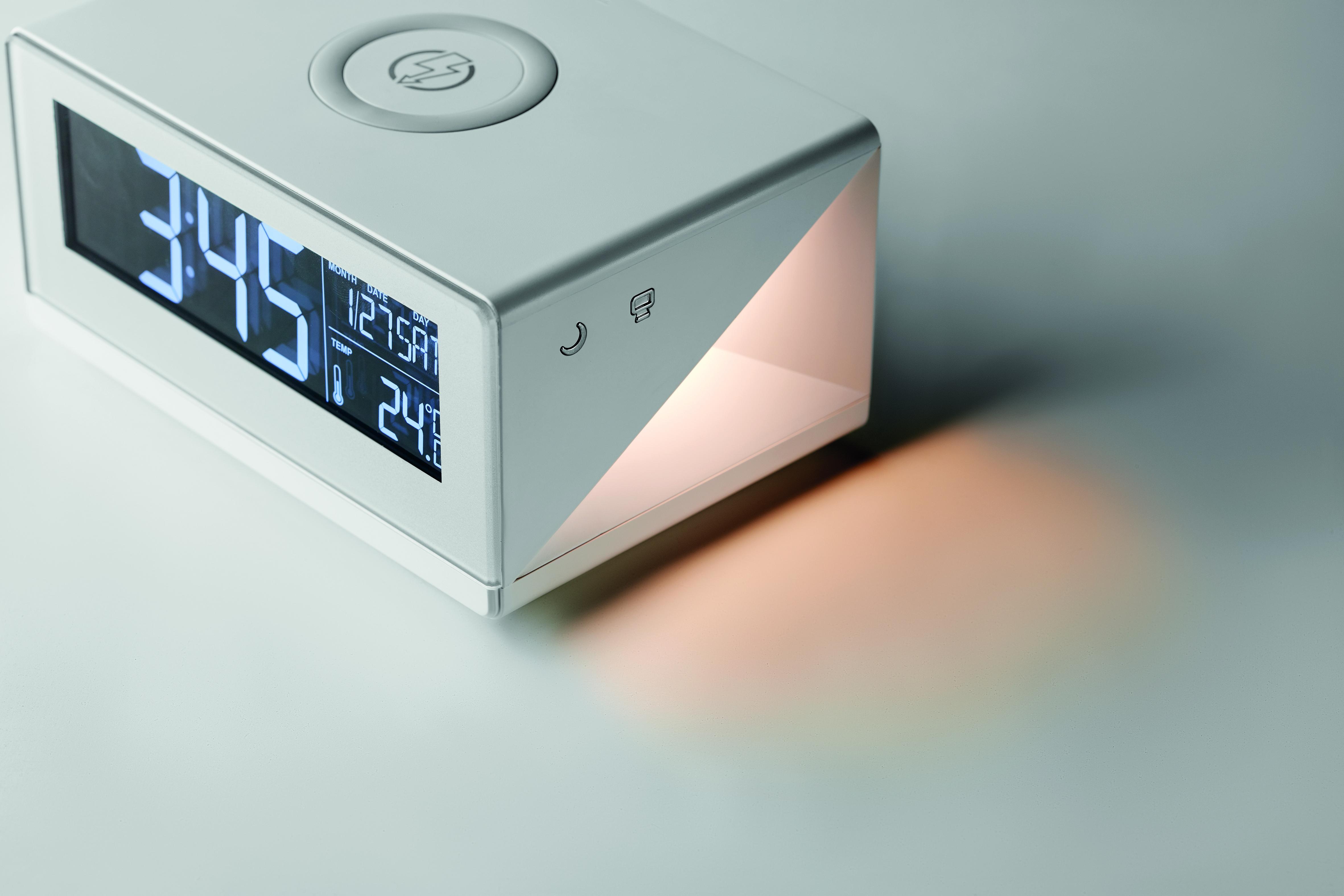 Horloge LED et chargeur sans fil - 6-1725-1