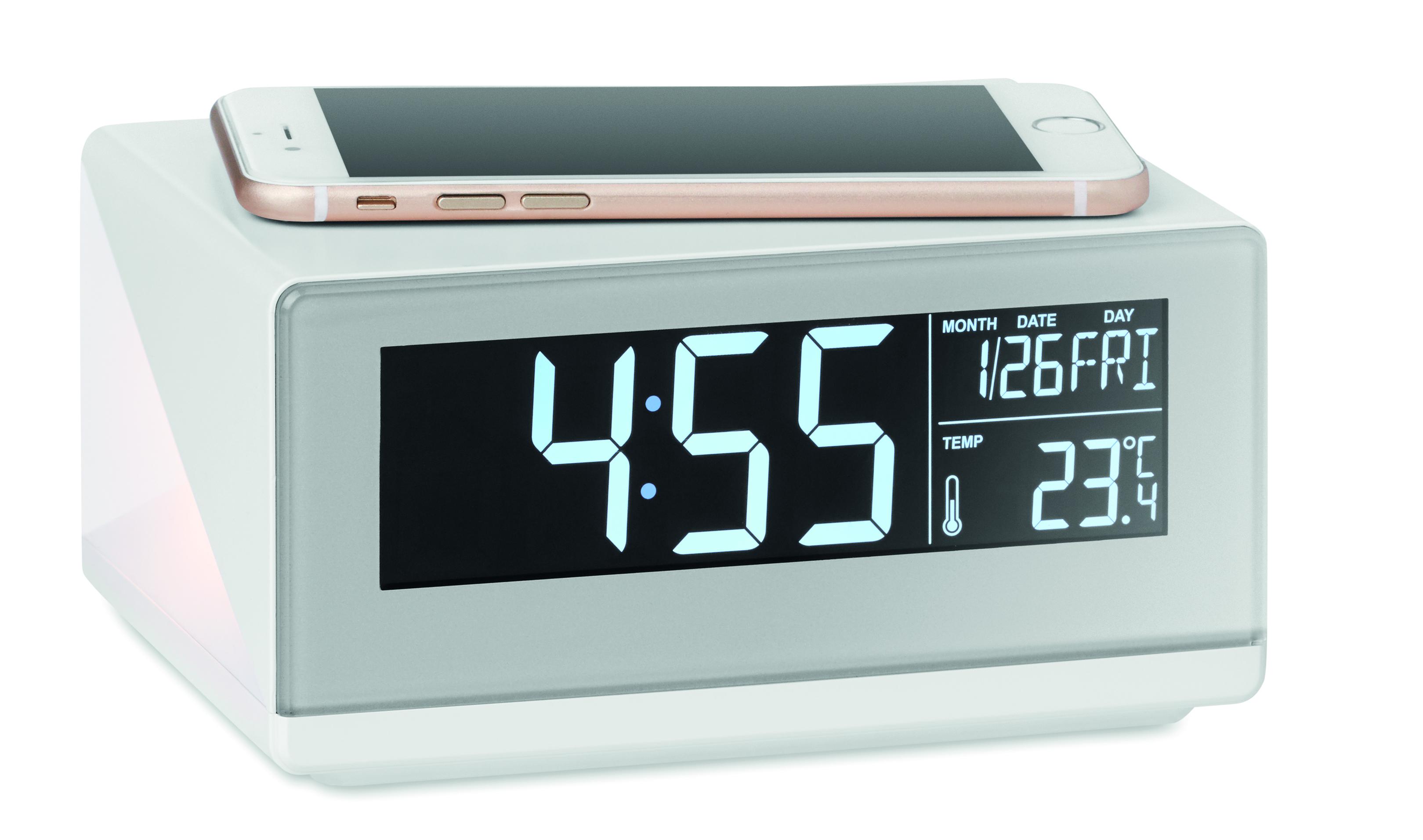 Horloge LED et chargeur sans fil - 6-1725-4