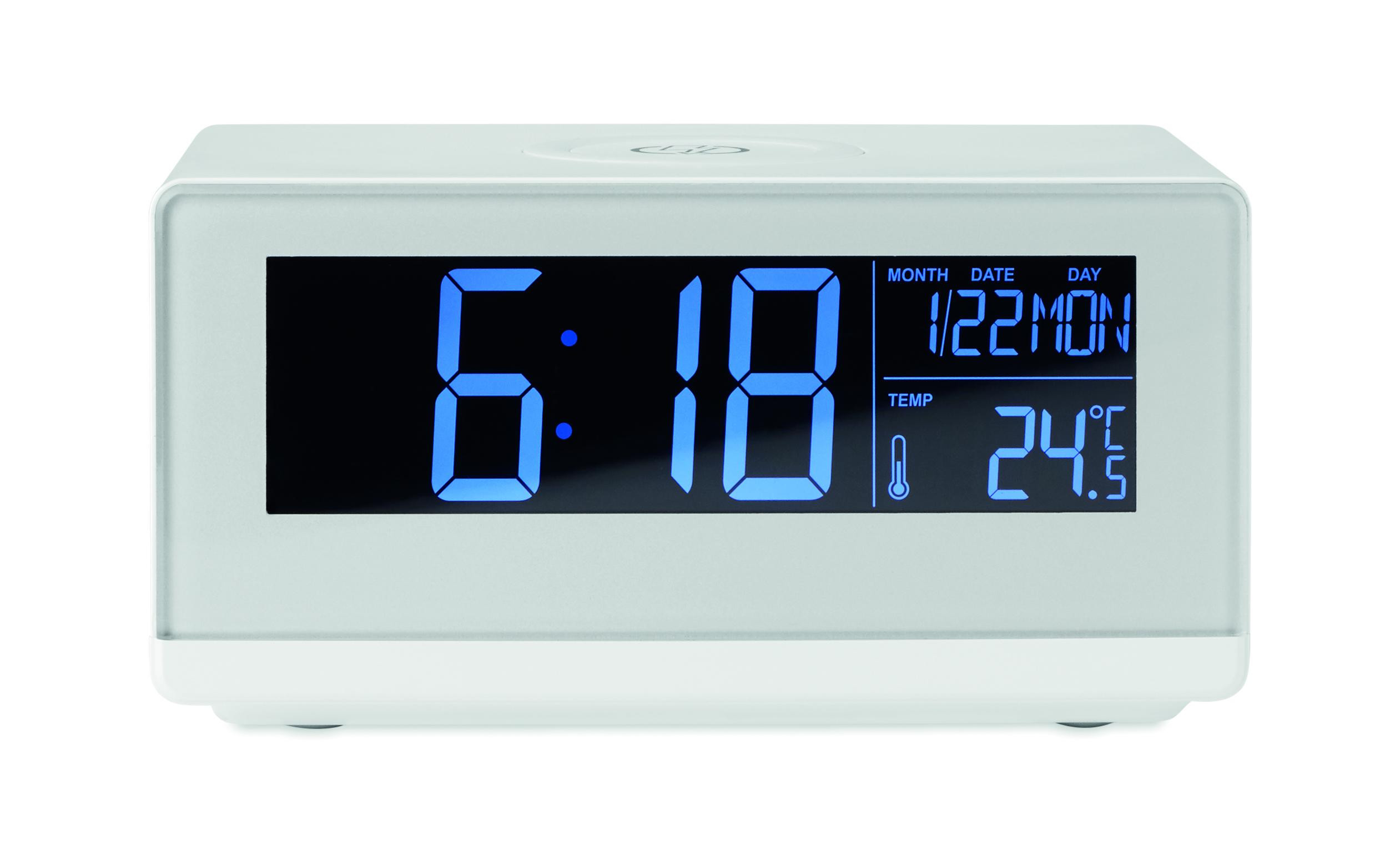 Horloge LED et chargeur sans fil - 6-1725-9