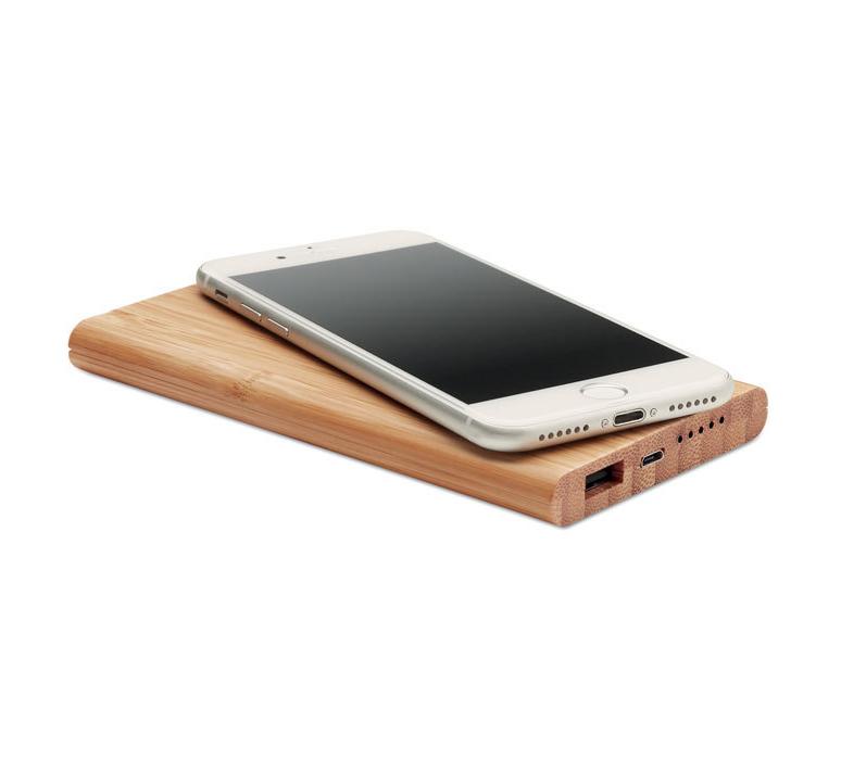 Chargeur sans fil et powerbank 6000mAh