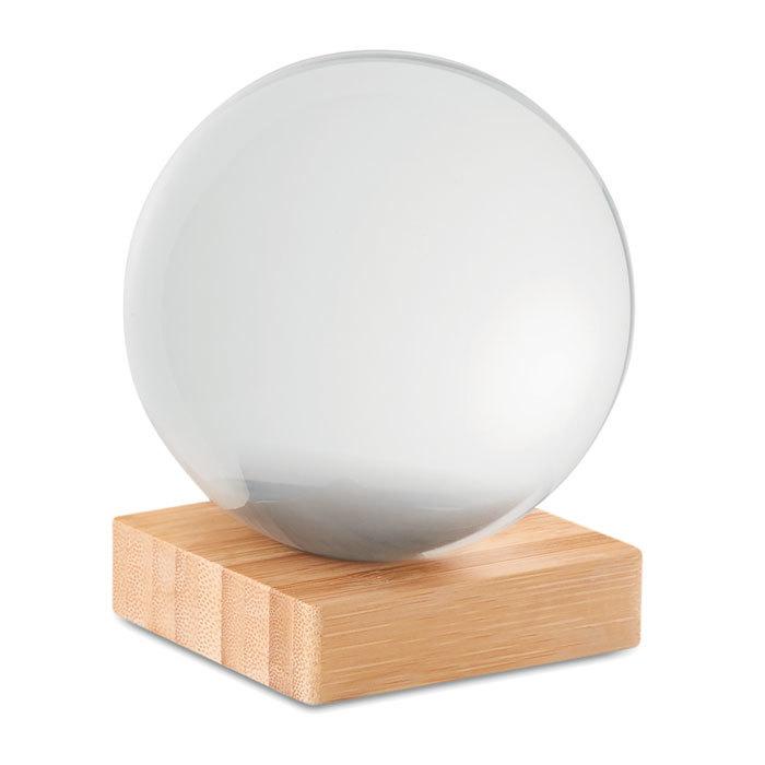 Boule de cristal pour photo