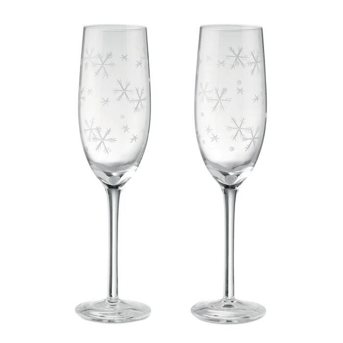 Set de 2 coupes à champagne