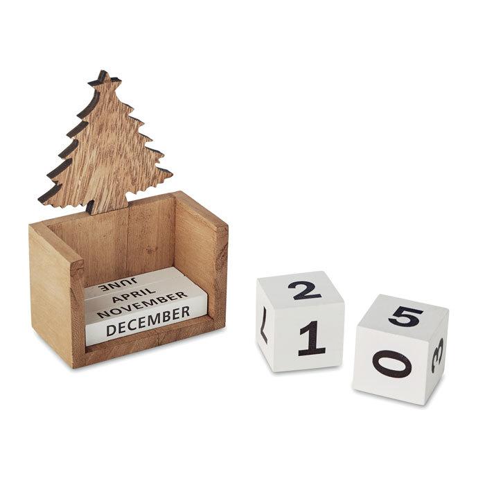 Calendrier de bureau Noël - 6-1782-1