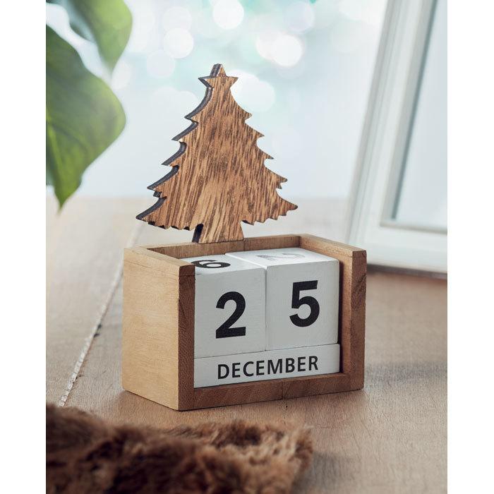 Calendrier de bureau Noël - 6-1782-2