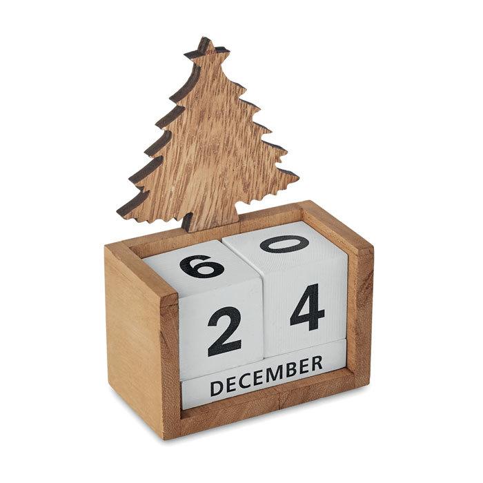 Calendrier de bureau Noël
