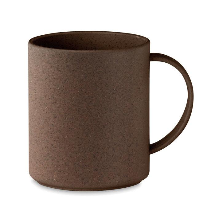 Mug 300ml en cosse de café et PP