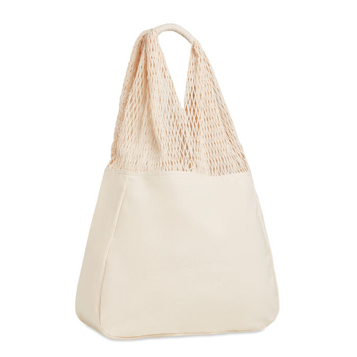 Sac de plage en coton et filet