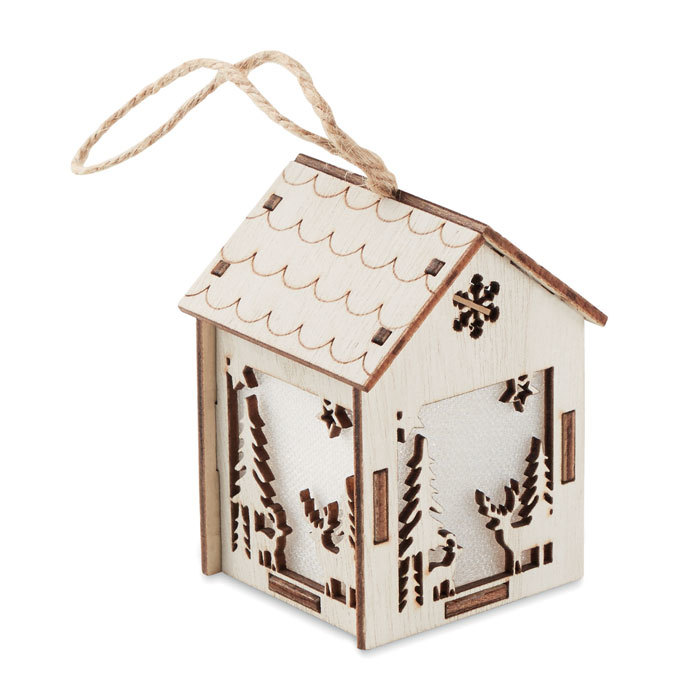 Maison en bois à suspendre