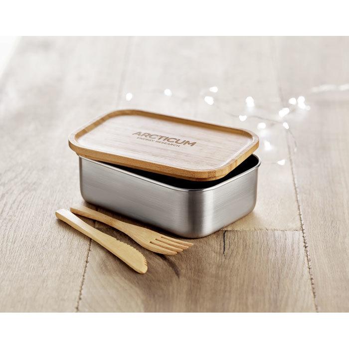 Lunchbox avec couverts - 6-1876-3