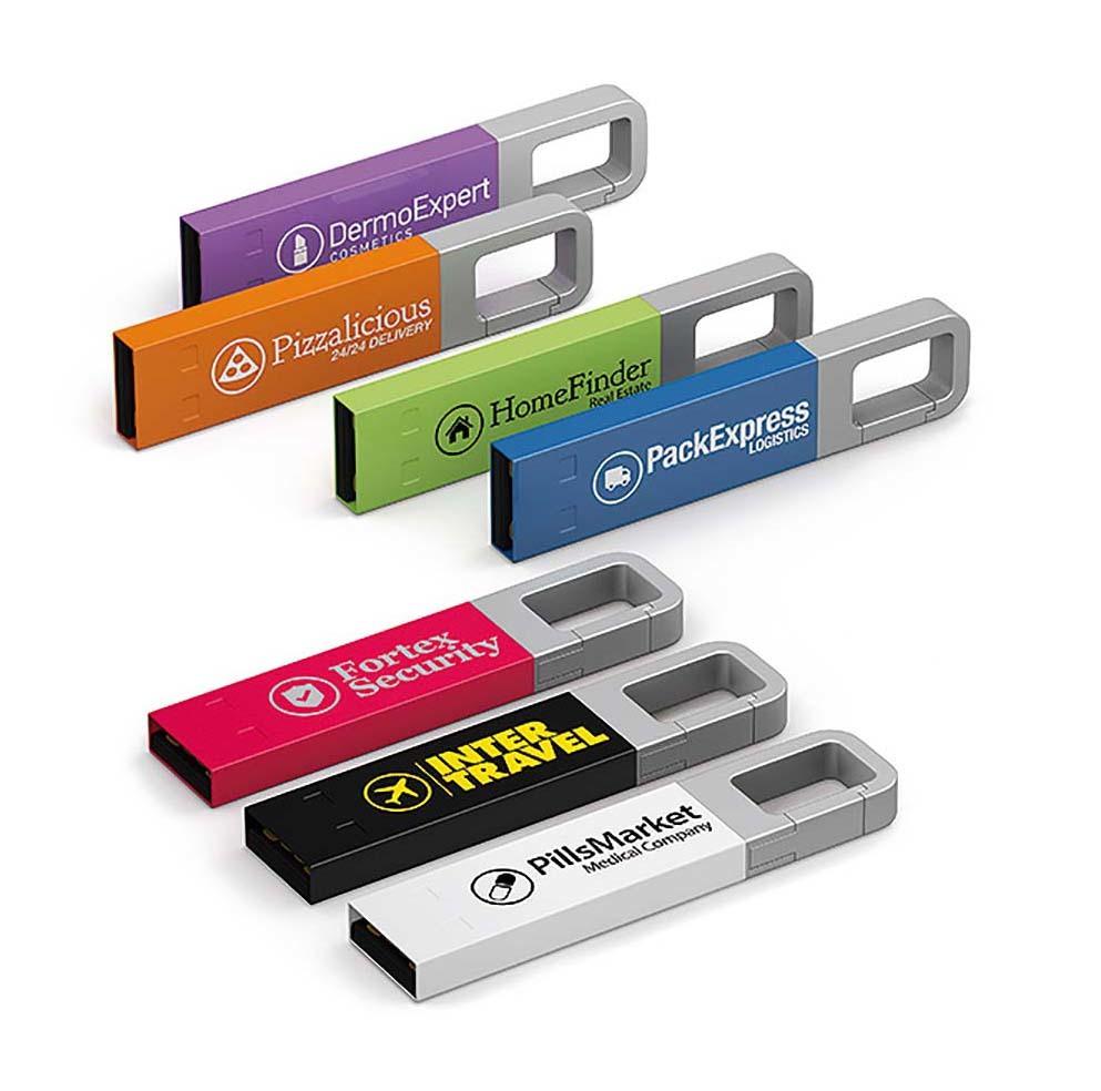 Clé USB Iron Hook color