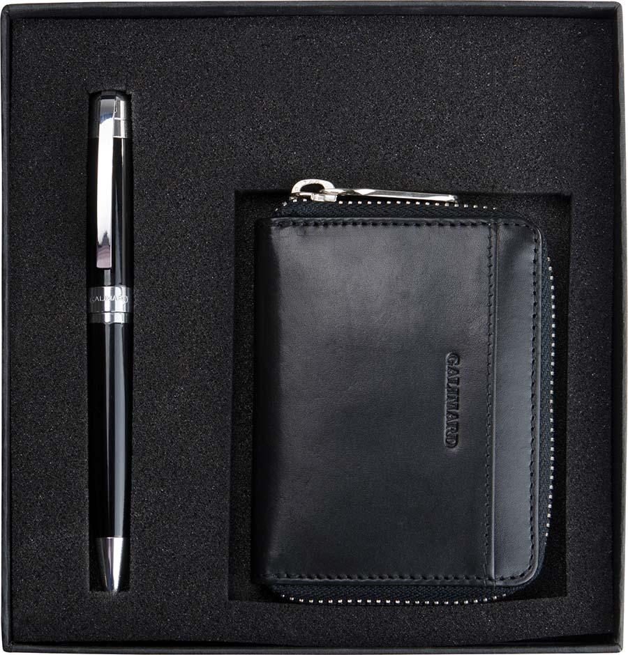 Coffret Galimard porte-monnaie et stylo