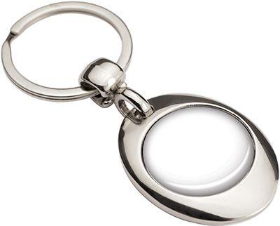 Porte-clés métal/jeton caddy Hyper - 70-1090-2