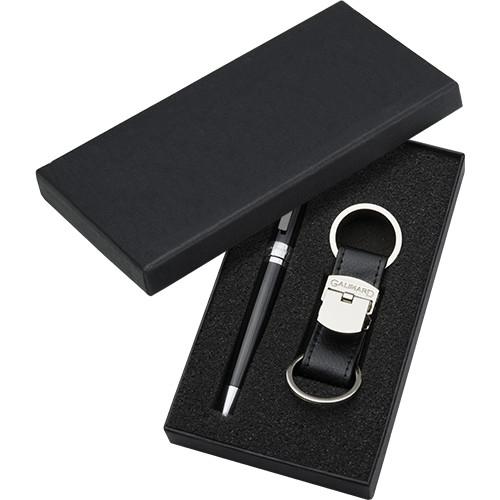 Set stylo à bille et porte-clés de GALIMARD