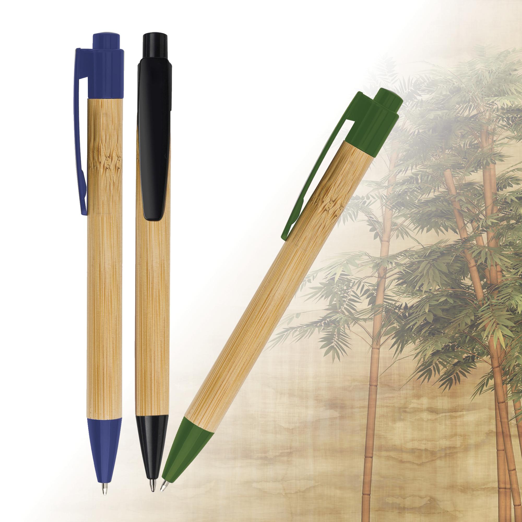 Stylo bille en bambou