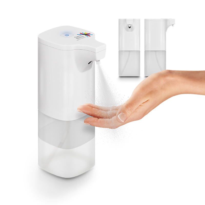 Distributeur sans contact pour solution hydroalcoolique