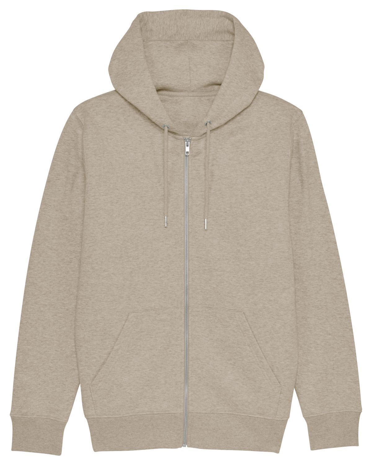 Sweat-shirt zippé capuche homme