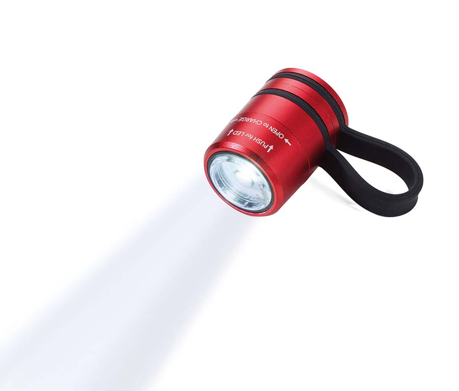 Porte-clés lampe de poche LED