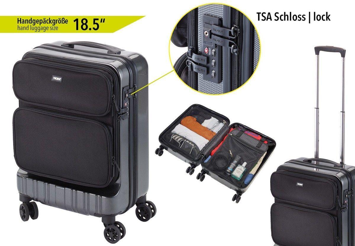 Valise à roulettes 36h, taille de bagage à main